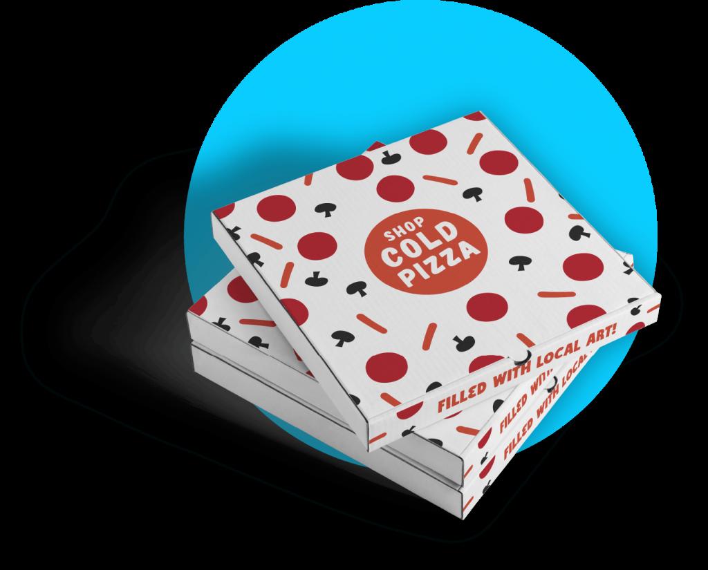 The Cold Pizza Box